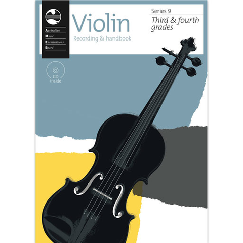 AMEB Series 9 Grades 3-4 - Violin CD Recording & Handbook 1202728043