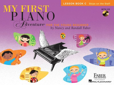 My First Piano Adventure - Lesson Book C with Play-Along & Listening CD - Nancy Faber|Randall Faber - Piano Faber Piano Adventures /CD - Adlib Music