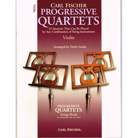 Progressive Quartets - Violin Quartet by Gazda Fischer BF69