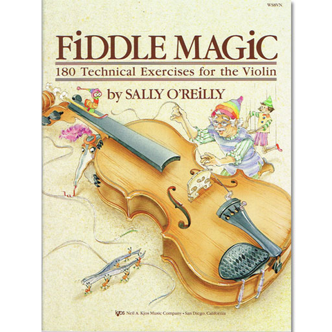 Fiddle Magic - Violin by O'Reilly Kjos WS8VN