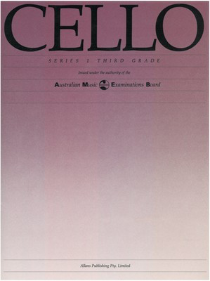 Cello Series 1 - Third Grade - Cello AMEB