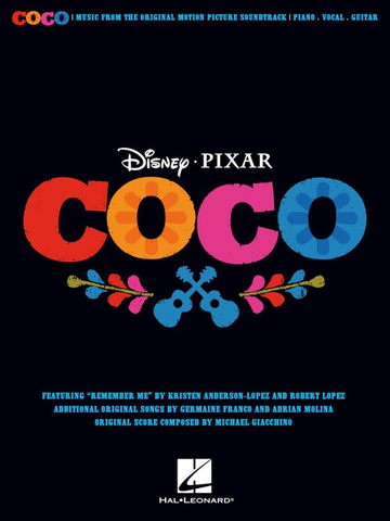 Coco - Music From The Original Motion Picture Soundtrack - Piano|Vocal|Guitar - Hal Leonard