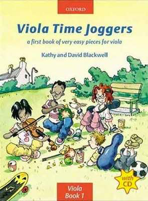 Viola Time Joggers + CD - A first book of very easy pieces for viola - David Blackwell|Kathy Blackwell - Viola Oxford University Press Viola Solo /CD - Adlib Music