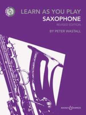 Learn As You Play Alto Saxophone - New Edition with CD - Alto Saxophone Boosey & Hawkes /CD - Adlib Music
