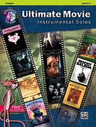 Ultimate Movie Inst Solos Trumpet Bk/CD - Various - Alfred Music