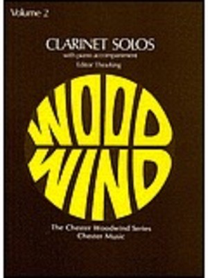 Clarinet Solos Volume 2 - with piano accompaniment - Various - Clarinet Chester Music