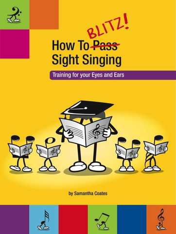 How to Blitz Sight Singing Book 1 - Coates Samantha - Blitz Books