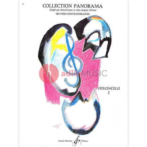 Collection Panorama Book 2 - Cello/Piano Accompaniment Billaudot MK123