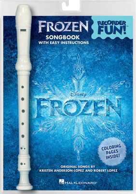 Frozen - Recorder Fun! - Pack with Songbook and Instrument - Kristen Anderson-Lopez|Robert Lopez - Recorder Hal Leonard Package - Adlib Music