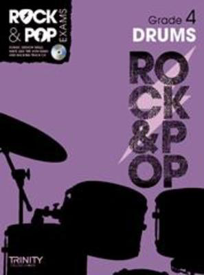 Rock & Pop Exams: Drums - Grade 4 - Book with CD - Drums Trinity College London /CD