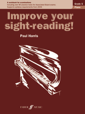 Improve your sight-reading! Piano 5 - Paul Harris - Piano Faber Music - Adlib Music