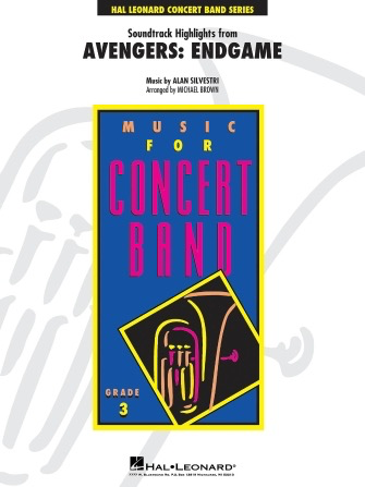 Soundtrack Highlights From Avengers: Endgame - Concert Band - Hal Leonard