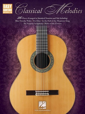 Classical Melodies - Various - Guitar Hal Leonard