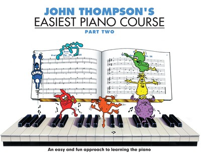 John Thompson's Easiest Piano Course - Part 2 - Book Only - Book Only - Piano John Thompson Willis Music - Adlib Music