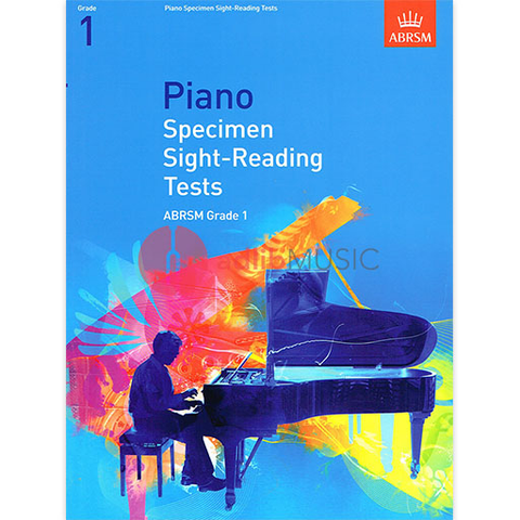 ABRSM Piano Specimen Sight-Reading Tests Grade 1 - Piano Solo ABRSM 9781860969058