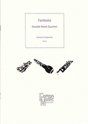 Fantasia for Double Reed Quartet - Giovanni Coperario - Bassoon|Cor Anglais|Oboe Robert Rainford Forton Music Woodwind Quartet