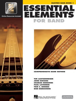 Essential Elements for Band - Book 1 with EEi - Electric Bass - Bass Guitar Charles Menghini|Donald Bierschenk|John Higgins|Paul Lavender|Tim Lautzenheiser|Tom C. Rhodes Hal Leonard /CD-ROM - Adlib Music