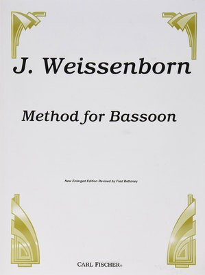Method for Bassoon - Julius Weissenborn - Bassoon Carl Fischer