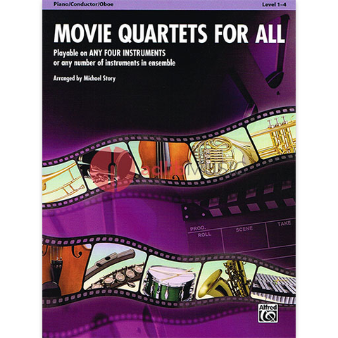 Movie Quartets for All Conductor/Piano/Oboe - Various -