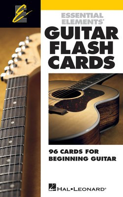 Essential ElementsŒ¬ Guitar Flash Cards - 96 Cards for Beginning Guitar - Guitar Various Authors Hal Leonard Guitar Ensemble Flash Cards - Adlib Music