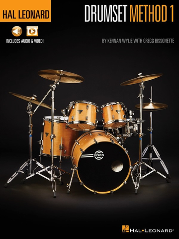Hal Leonard Drumset Method Book 1 - Book/Online Audio & Video - Drums - Hal Leonard