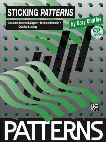 STICKING PATTERNS BOOK/CD - CHAFFEE - Warner Bros