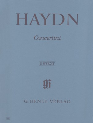 Concertini For Piano (Harpsichord) - Joseph Haydn - Piano|Cello|Violin G. Henle Verlag Piano Quartet Parts