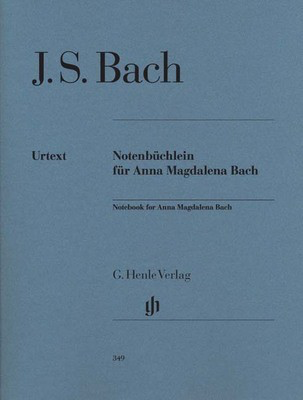 Bach - Notebook for Anna Magdalena Bach - Piano Solo Henle HN349