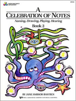 A Celebration of Notes Book 2 - Piano Jane Bastien Neil A. Kjos Music Company