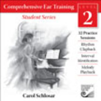 Comprehensive Ear Training: Level 2 - Student Series - Carol Schlosar - Frederick Harris Music CD
