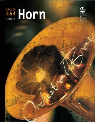 Horn Series 1 - Grades 3 & 4 Orchestral Brass - French Horn AMEB - Adlib Music