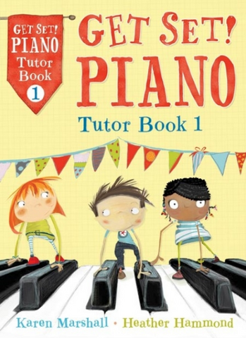 Get Set Piano Tutor Book 1 - Marshall Karen / Hammond Heather - A&C Black