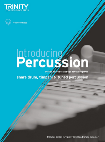 Trinity Introducing Percussion - Book/OLA
