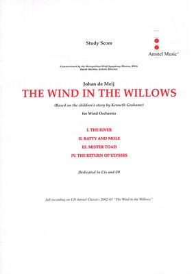 The Wind in the Willows - for Concert Band - Johan de Meij - De Haske Publications Study Score Score
