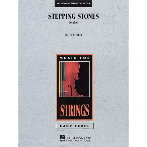 Stepping Stones (Scales) - String Orchestra Grade 2 Score/Parts by Conley Hal Leonard 4490920