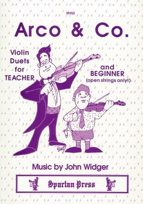 Arco & Co - John Widger - Violin Spartan Press Violin Duet