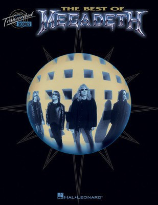 The Best of Megadeth - Hal Leonard Transcribed Score
