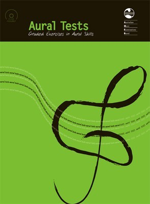 Aural Tests - Graded Exercises in Aural Skills - Book & 6 CD set - AMEB /CD - Adlib Music
