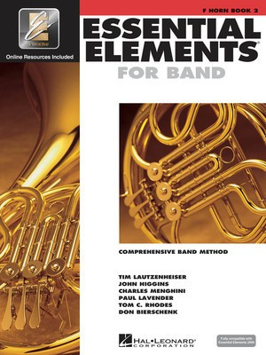 Essential Elements for Band - Book 2 with EEi - F Horn - French Horn Charles Menghini|Donald Bierschenk|John Higgins|Paul Lavender|Tim Lautzenheiser|Tom C. Rhodes Hal Leonard /CD - Adlib Music