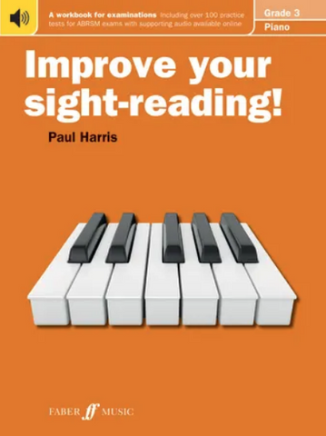 Improve your sight-reading! Piano 3 - Paul Harris - Piano Faber Music
