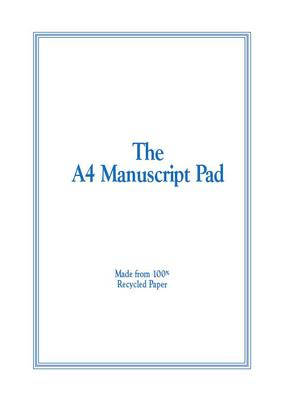 The A4 Manuscript Pad - 12 Stave (Recycled) 50 Page - All Music Publishing - Adlib Music