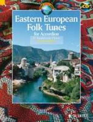 Eastern European Folk Tunes For Accordion Book/CD
