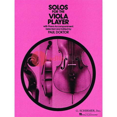SOLOS FOR THE VIOLA PLAYER - G Schirmer