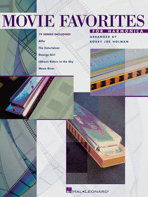 Movie Favorites for Harmonica - Bobby Joe Holman - Harmonica Hal Leonard