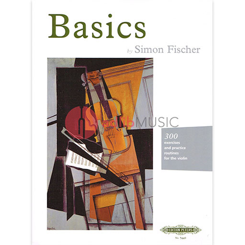 Basics - 300 Exercises - Violin - Simon Fischer - Peters