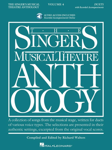 Singer's Musical Theatre Anthology Duets Volume 4 Book/Online Audio - Vocal - Hal Leonard