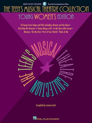 The Teen's Musical Theatre Collection - Young Women's Edition - Various - Vocal Louise Lerch Hal Leonard /CD - Adlib Music