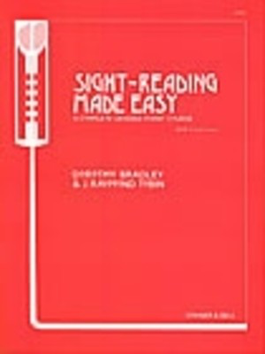 Sight Reading Made Easy Bk 3 Transitional - Ian Bradley - Piano Stainer & Bell Piano Solo