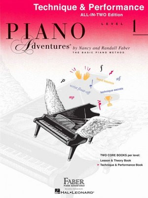 Piano Adventures All-In-Two Level 1 - Technique & Performance Book - Nancy Faber|Randall Faber - Piano Faber Piano Adventures - Adlib Music