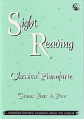 Sight Reading Classical Pianoforte Gr 4 - 5 - Piano ANZCA